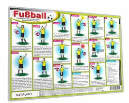 Fußball Schiedsrichterzeichen