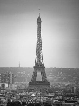 """La Tour Eiffel""  -  Alu-Dibond Wandbild 50 x 75 cm"