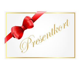 Presentkort 4