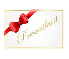 Presentkort 2