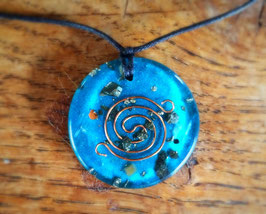 Blue turtle pendant