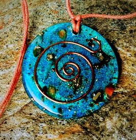 Turquoise Healing Pendant