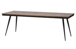 Rhombic Esstisch Holz/Metall