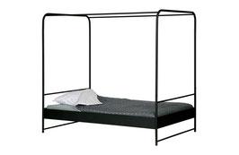 Bunk Bett Metall schwarz