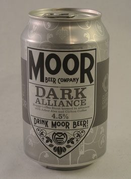 Moor Beer Dark Alliance Stout