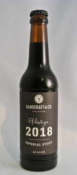Hanscraft Vintage 2018 Imperial Stout