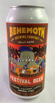 Behemoth Festival Beer   Coconut Maple Coffee Imperial Stout