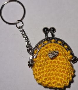 Schlüsselanhänger in gelb