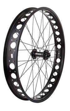 RUEDA DELANTERA LIGERA PARA FAT BIKE 135 MM