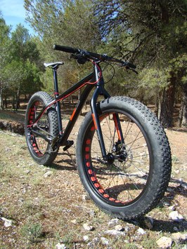 FAT BIKE BAGGERBIKE ALU 1.0 SHIMANO 11V