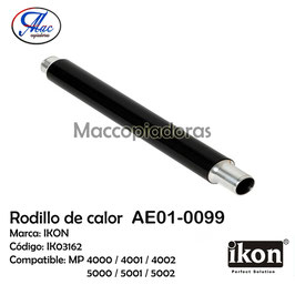 AE01-0099 Upper Fuser Roller for Ricoh / Rodillo de calor IK03162