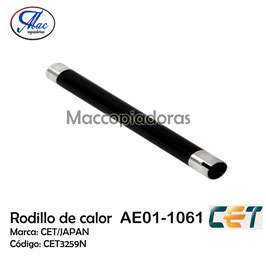 AE011061 Upper Fuser Roller for Ricoh / Rodillo de calor CET3259N