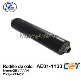 AE011108 Upper Fuser Roller / Rodillo de Calor CET6636