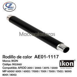 AE01-1117 Upper Fuser Roller / Rodillo de calor IK03160
