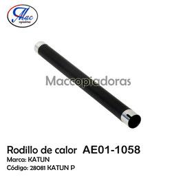 AE011058 Upper Fuser Roller / Rodillo de Calor 28081KATUN