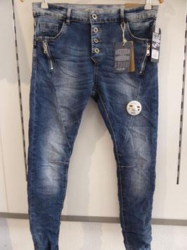 Lexxury Jeans  mit ZIP an der Fronttasche
