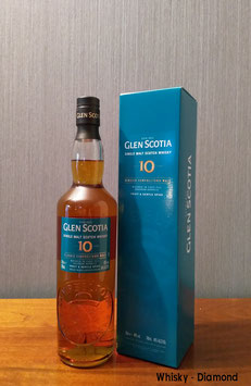 Glen Scotia 10 Jahre Unpeated 40% Vol.