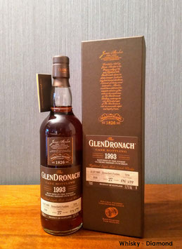 Glendronach Single Cask Batch 18 1993 Oloroso Sherry Puncheon #7276