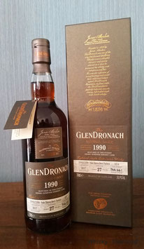 Glendronach Single Cask Batch 16 1990 Pedro Ximenez Puncheon #1014