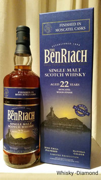 Benriach 22 Jahre Moscatel Finish