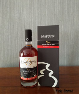 Stauning Single Cask Rye Whisky Moscatel Cask Finish