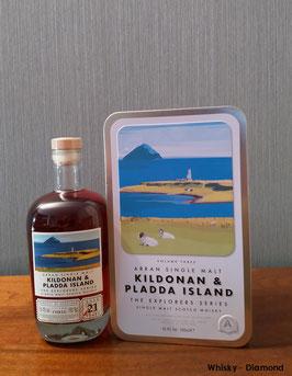 Arran 21 Jahre Explorers Series #3 Kildonan & Pladda Island