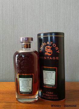 Allt-a-Bhainne 2000/2021 Signatory Vintage Single Cask #11 Fresh Sherry Butt Finish 52,6% Vol.