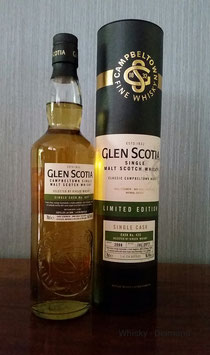 Glen Scotia 2008/2017 Single Cask #425 First Fill Bourbon