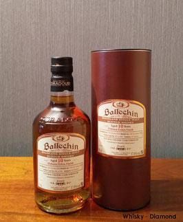 Ballechin 2010/2020 10 Jahre Elsburn Firkin Finish 57,8% Vol.