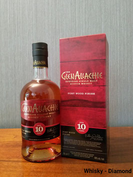 GlenAllachie Wood Finishes 10 Jahre Ruby Port Pipe Finish