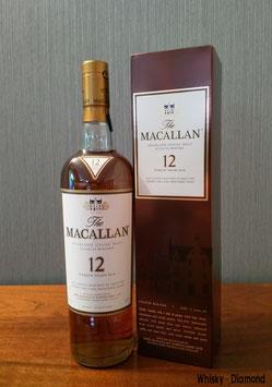 Macallan 12 Jahre Sherryfass (Alte Ausstattung)