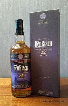 Benriach Dunder Peated Dark Rum Finish 22 Jahre