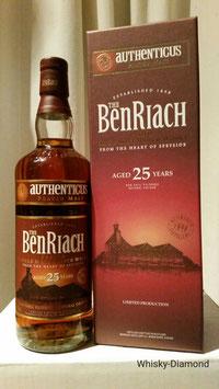 Benriach Authenticus 25 Jahre