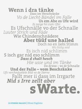 Oliver Füglister ‹D Sterne falled›