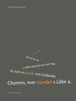 Richard Knecht ‹Es Füür entfache›