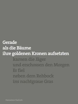Hannelore Dietrich ‹Schüsse›
