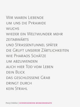 Percy Usleber ‹Schweigender Mumienersatz›