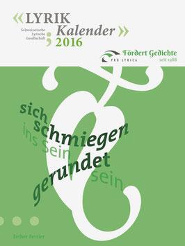 2016, Esther Ferrier, Titelgedicht: ‹Sich schmiegen›