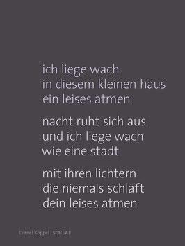 Cornel Köppel ‹Schlaf›