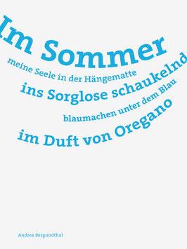 Andrea Bergundthal ‹Im Sommer›
