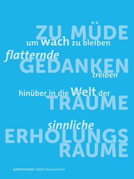 Edith Saner-Furrer ‹Abtauchen›