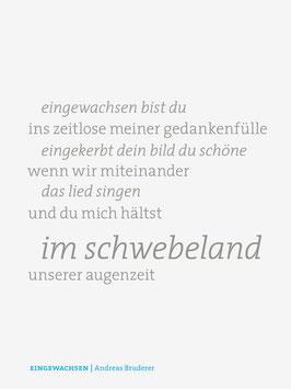 Andreas Bruderer ‹Eingewachsen›