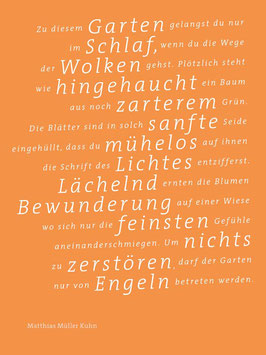 Matthias Müller Kuhn ‹Zu diesem Garten›