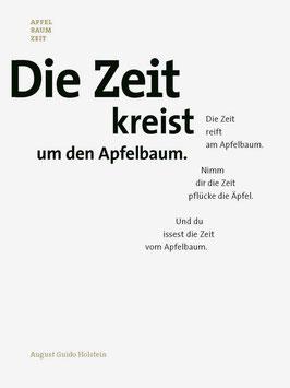 August Guido Holstein ‹Apfel Baum Zeit›