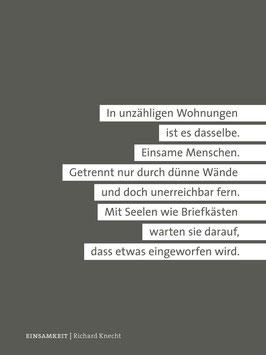 Richard Knecht ‹Einsamkeit›