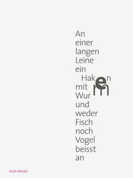 Ruth Werfel ‹An einer langen Leine›