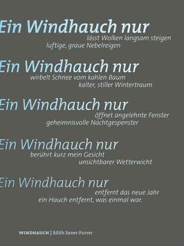 Edith Saner-Furrer ‹Windhauch›