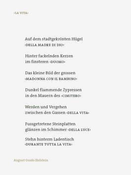 August Guido Holstein ‹La Vita›