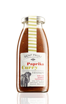 Soße Paprika & Curry: Herzhaft