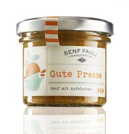 Gute Presse: Senf mit Apfelsinen
